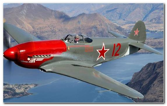 Image Airplane Yakovlev Yak 3 Military Aircraft Air Racing Monoplane