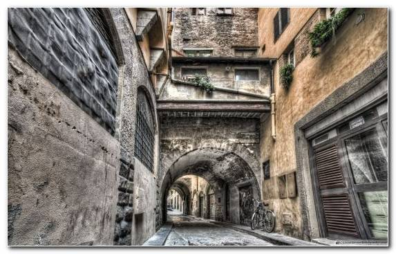 Image Alley Medieval Architecture Florence Arch History