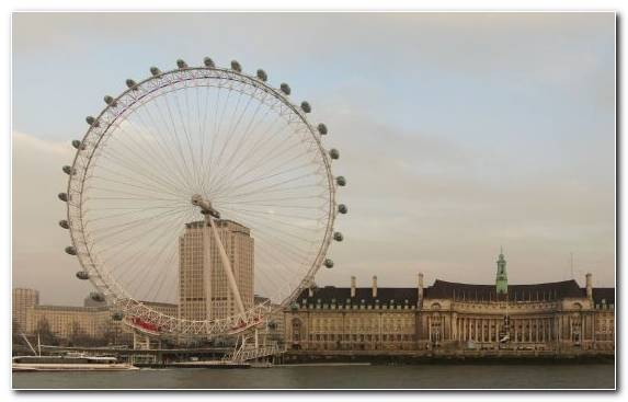 Image Amusement Park Ferris Wheel Tourist Attraction City Tourism