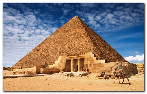 Image Ancient History Landscape Hut Pyramid Egyptian Pyramids