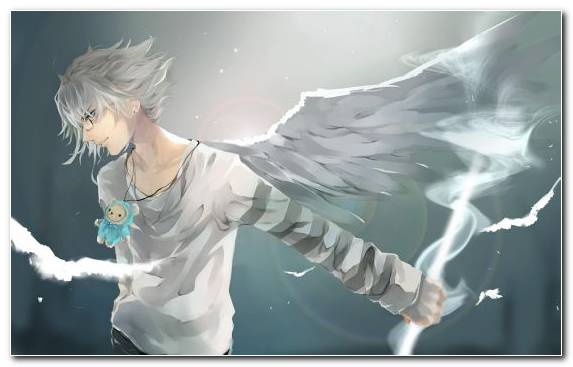 Image Angel Sky Boys Anime Fictional Character