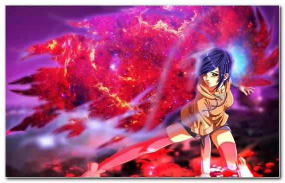 Image Anime Kirishima Touka Ghoul Sky Art