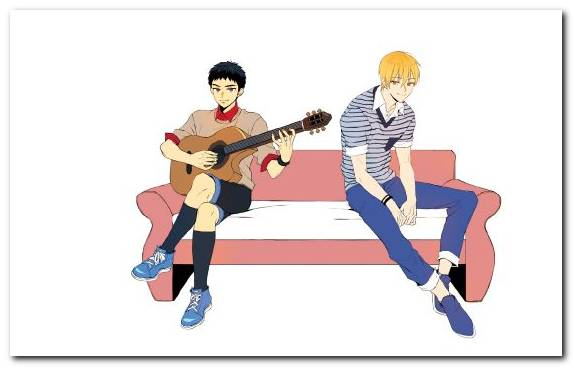 Image Anime Wong Footwear Sitting Tetsuya Kuroko