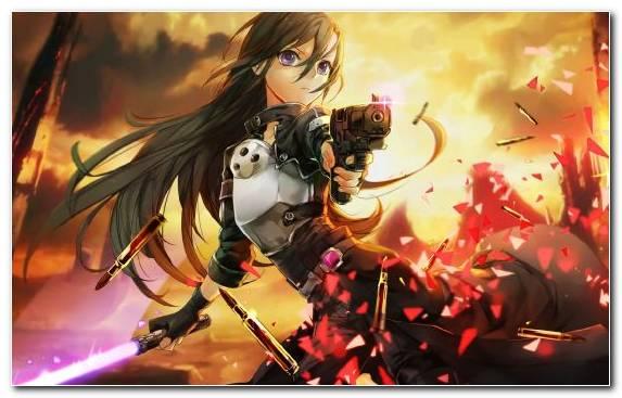 Image Anime Asuna Fictional Character Sinon Woman Warrior