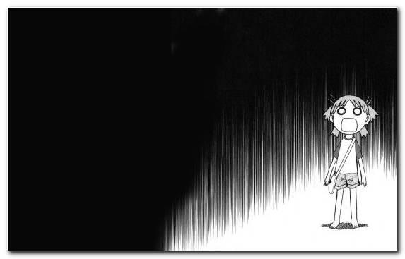 Image anime black light yotsuba koiwai darkness