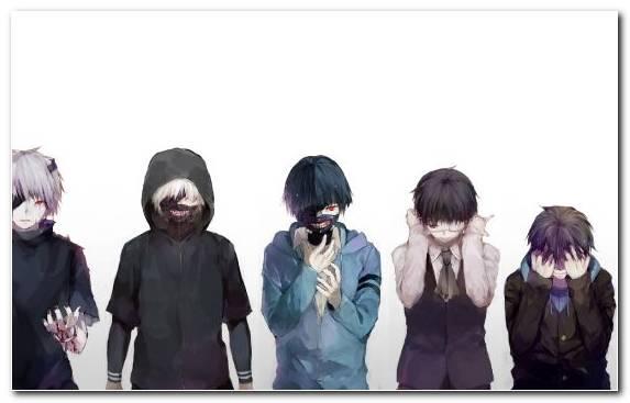 Image Anime Character Vision Care Ken Kaneki Manga