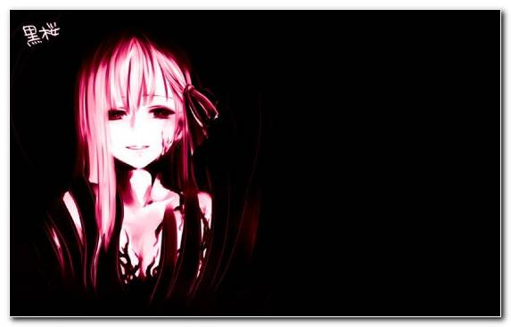 Image Anime Darkness Long Hair Manga Mouth