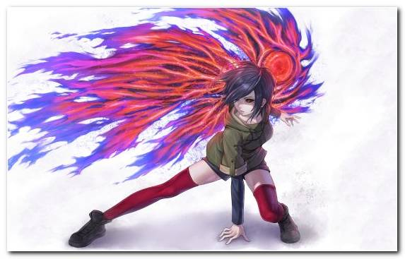 Image Anime Feather Ghoul Creative Arts Ken Kaneki