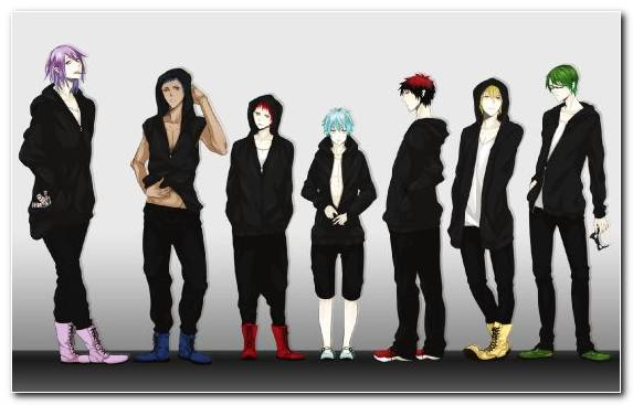 Image Anime Formal Wear Social Group Suit Human