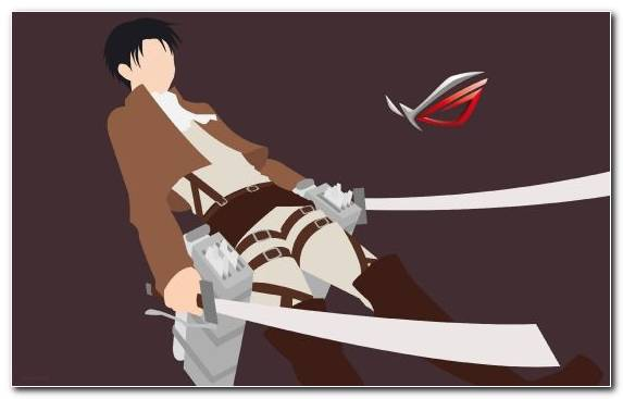 Image Anime Knives Attack On Titan Sword Shoe