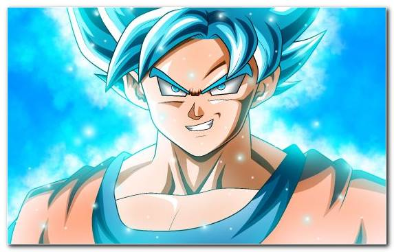 Image Anime Light Blue Girl Cartoon Vegeta