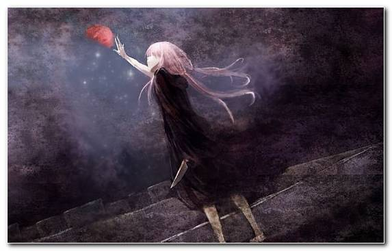 Image anime music video fan art future diary smoke manga
