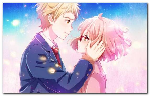 Image Anime Television Pink Purple Sky