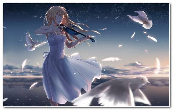 Image Anime Violin Fictional Character Music Piano
