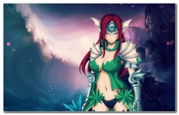 Image Anime Woman Warrior Natsu Dragneel Mythology Mythical Creature