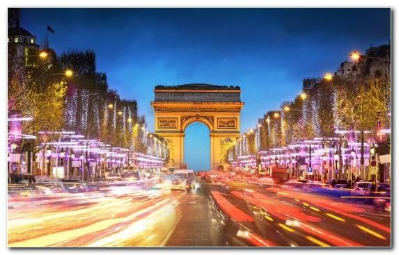 Image Arc De Triomphe Cityscape Town Hotel Capital City