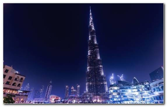 Image Architecture Capital City Burj Khalifa Tower Urban Area