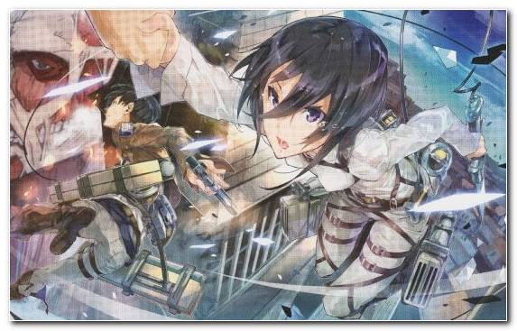 Image Art Levi Anime Mikasa Ackerman Attack On Titan