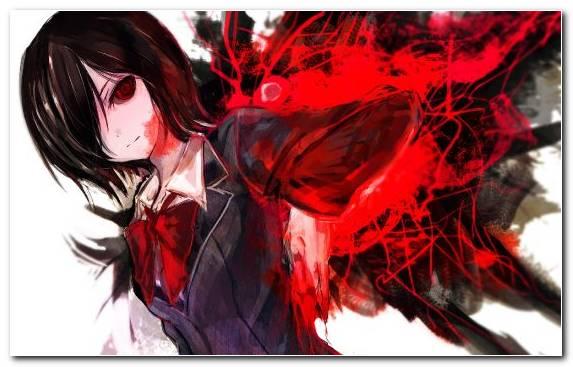 Image Art Red Illustration Creative Arts Anime