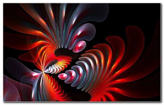 Image Art Symmetry Creative Arts Fractal Art Red