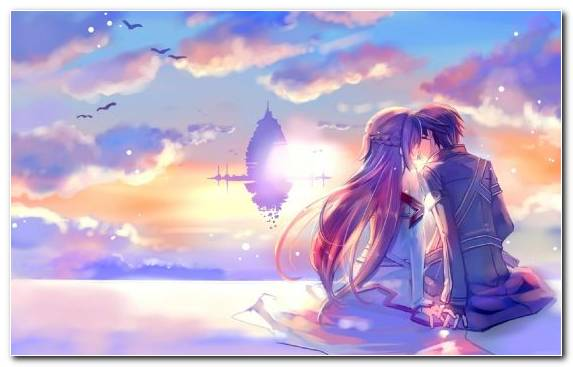Image Asuna Sunlight Calm Girl Anime