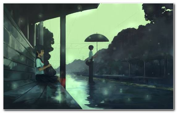 Image Atmosphere Darkness Sky Anime Drawing