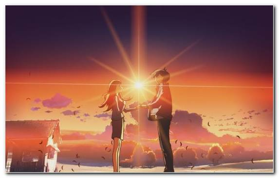 Image Atmosphere Horizon Evening Music Anime
