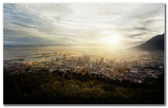 Image Atmosphere Sunlight Cloud Cityscape Cape Town