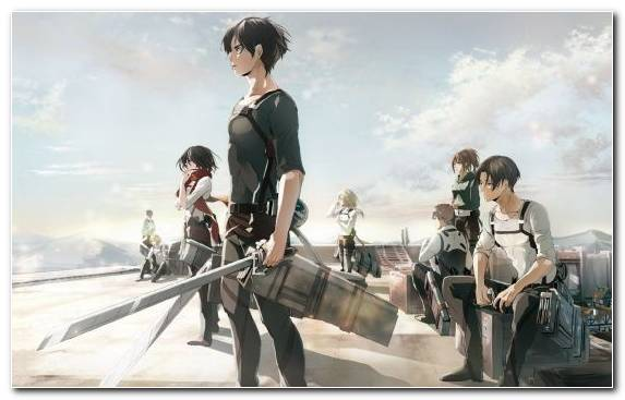 Image Attack On Titan Levi Eren Yeager Youtube Mikasa Ackerman
