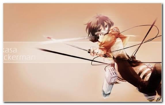 Image Attack On Titan Anime Graphics Art Mikasa Ackerman