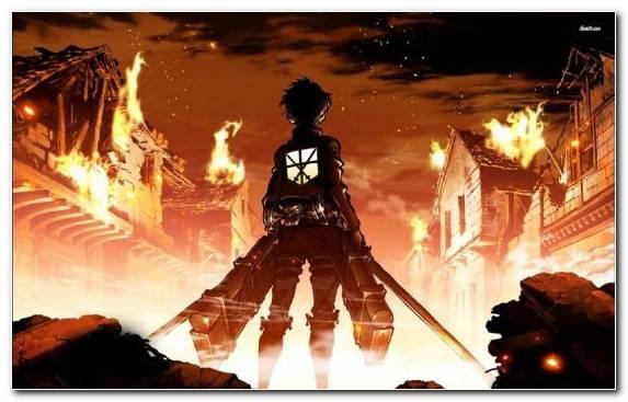 Image Attack On Titan Eren Yeager Darkness Artist Mikasa Ackerman