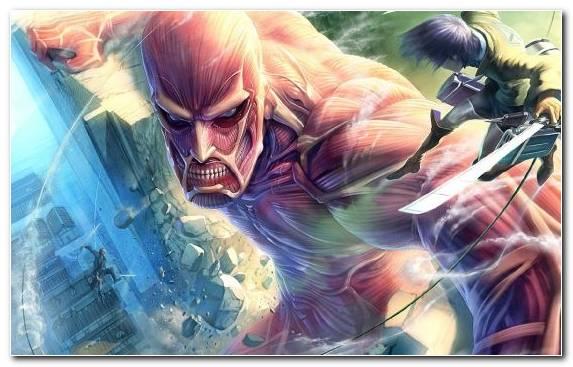 Image attack on titan fiction anime illustration eren yeager