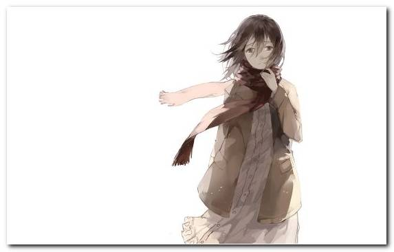 Image Attack On Titan Girl Brown Hair Eren Yeager Mikasa Ackerman