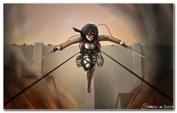 Image Attack On Titan Woman Warrior Darkness Eren Yeager Anime