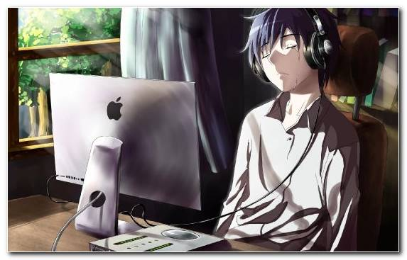 Image Audio Equipment Technology Girl Anime Boys