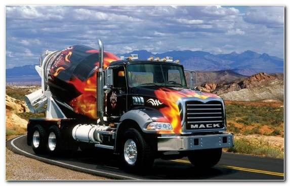 Image Automotive Exterior Mack Trucks Semi Trailer Truck Transport Volvo Trucks