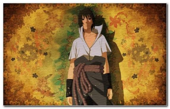 Image Autumn Naruto Uzumaki Girl Sasuke Uchiha Yellow