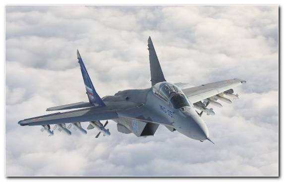 Image Aviation Aircraft Airplane Fighter Aircraft Mikoyan Mig 35