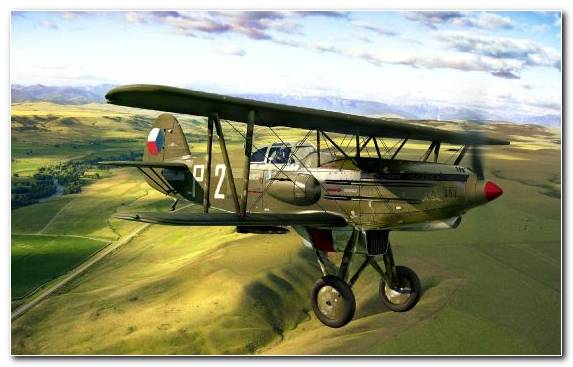 Image Aviation Biplane Fighter Aircraft Propeller Driven Aircraft Monoplane
