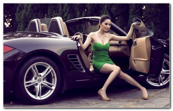 Image Beauty Sportscar Automotive Exterior Porsche Tesla Model S