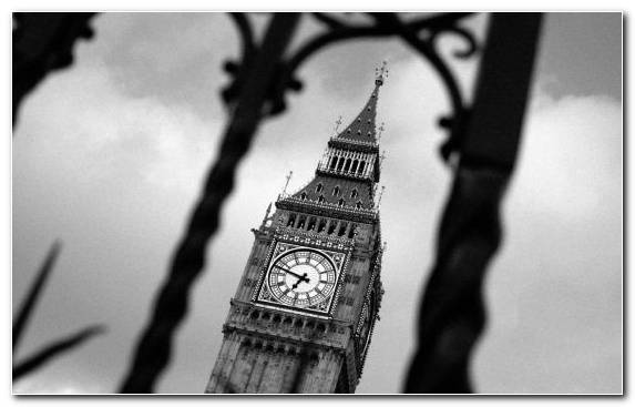 Image Big Ben Clock Tower Spiral History Tower