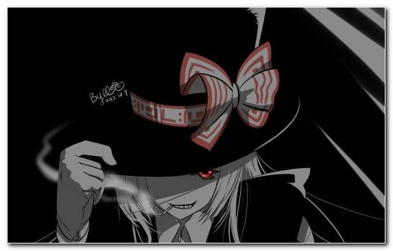 Image Black Black And White Design Art Fictional Character