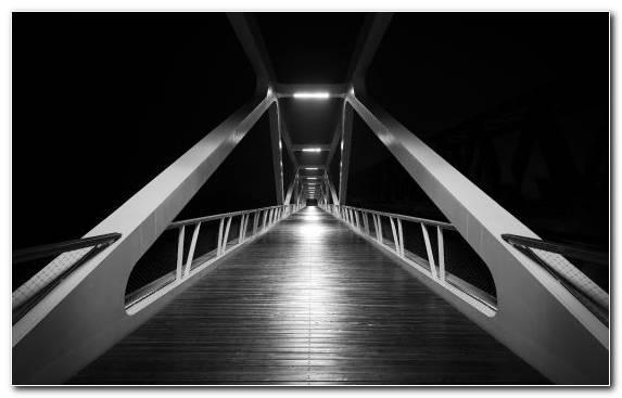 Image Black Bridge Darkness Architecture Light