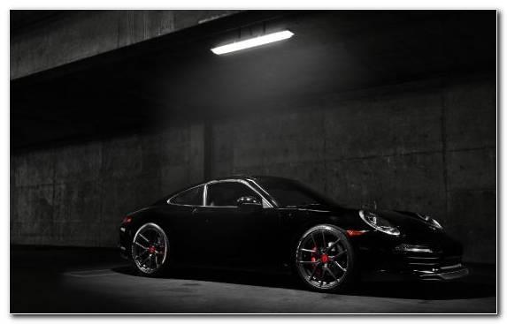 Image Black Car Alloy Wheel Porsche 911 Sports Car