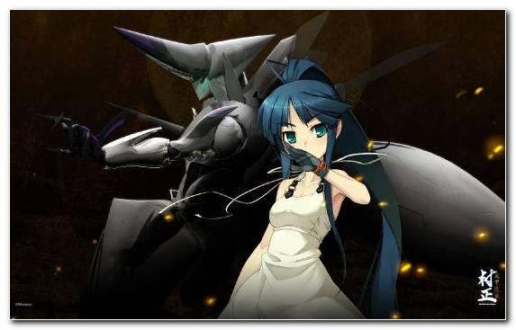 Image Black Hair Minato Hikaru Robot Girl Fictional Character