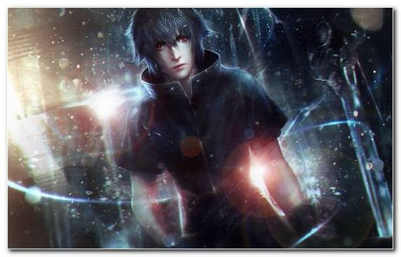 Image black hair space noctis lucis caelum special effects girl