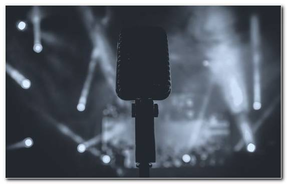 Image Black Microphone Sound Monochrome Black And White