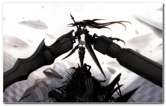 Image Black Rock Shooter Fan Art Anime Video Anime Music Video