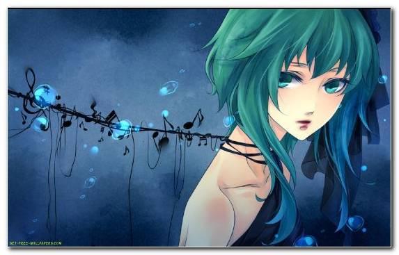 Image Blue Animation Anime Sky Girl