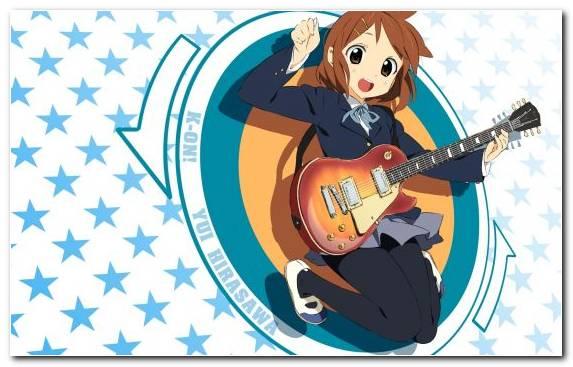 Image Blue Azusa Nakano Mangaka Illustration Mio Akiyama